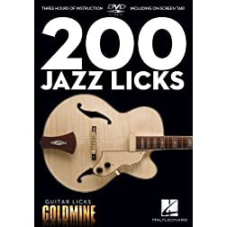 Guitar Licks Goldmine: 200 Jazz Licks