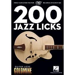 Guitar Licks Goldmine: 200 Jazz Licks
