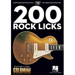 Guitar Licks Goldmine: 200 Rock Licks