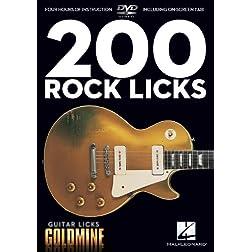 Guitar Licks Goldmine: 200 Rock Licks