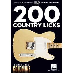 Guitar Licks Goldmine: 200 Country Licks