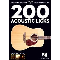 Guitar Licks Goldmine: 200 Acoustic Licks