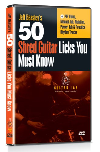 50 Shred Licks You Must Know