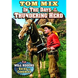 In the Days of the Thundering Herd (1914) / Going to Congress (1924) (Silent)