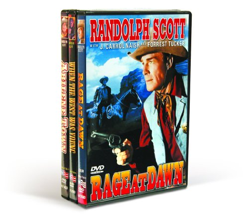Randolph Scott Classics: Rage At Dawn (1955) / When The West Was Young (1932) / Abilene Town (1946) (3-DVD)