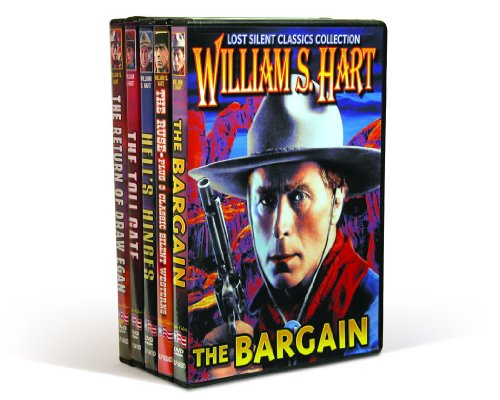 William S. Hart Classics: The Ruse (1915) / Hell's Hinges (1916) / The Toll Gate (1920) / The Bargain (1914) / The Return Of Draw Egan (1916) (5-DVD)