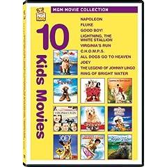 Kids 10-Pack (Napoleon / Fluke / Good Boy / Lightning: The White Stallion / Virginia's Run / C.H.O.M.P.S. / All Dogs Go to Heaven / Joey / Legend of Johnny Lingo / Ring of Bright Water)