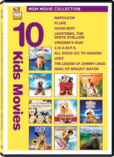 Kids 10-Pack (Napoleon / Fluke / Good Boy / Lightning: The White Stallion / Virginia's Run / C.H.O.M.P.S. / All Dogs Go to Heaven / Joey / Legend of Johnny Lingo / Ring of Bright Water)