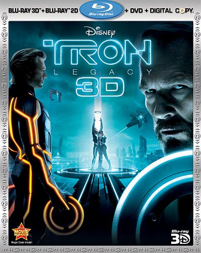 Tron: Legacy (Four-Disc Combo: Blu-ray 3D / Blu-ray / DVD / Digital Copy)