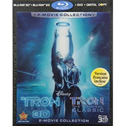 Tron: Legacy / Tron: The Original Classic (Five-Disc  Combo: Blu-ray 3D  / Blu-ray / DVD / Digital Copy)