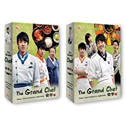 Korean TV Drama 2-pack: The Grand Chef Vol 1 + Vol 2