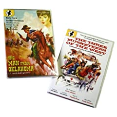 Comedy Western Two-Fer: Three Musketeers of the West (1965) / The Man From Oklahoma (1973)