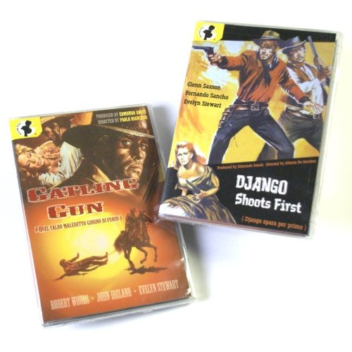 Spaghetti Western Two-Fer: Gatling Gun (1968) / Django Shoots First (1966)