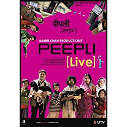 Peepli [Live] (Aamir Khan Productions - Hindi Film / Bollywood Movie / Indian Cinema Blu-ray DVD)