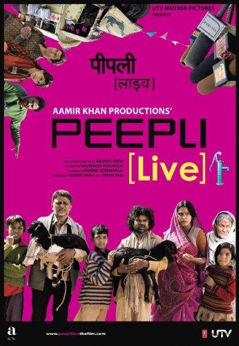 Peepli [Live] (Aamir Khan Productions - Hindi Film / Bollywood Movie / Indian Cinema Blu-ray DVD)
