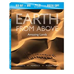 Earth From Above: Amazing Lands [Blu-ray]