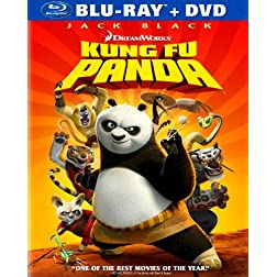 Kung Fu Panda (Two Disc Blu-ray/DVD Combo)