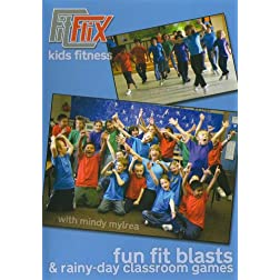 Mindy Mylrea: Fun Fit Blasts & Rainy Day Classroom Games for Kids