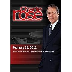 Charlie Rose - Abdul Rahim Wardak (February 25, 2011)