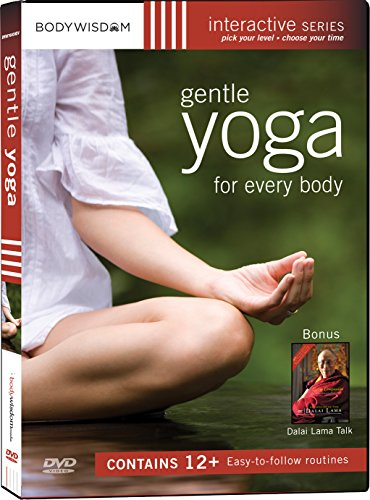 Gentle Yoga for Every Body (With 12 Routines and a discussion with the Dalai Lama)
