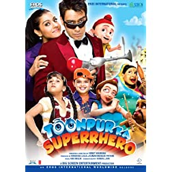 Toonpur Ka Superhero Bollywood DVD With English Subtitles