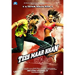 Tees Maar Khan (TMK / New Comedy Hindi Film / Bollywood Movie / Indian Cinema DVD)