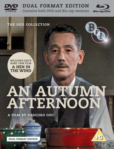 An Autumn Afternoon / A Hen in the Wind (Dual Format Edition) [Blu-ray]