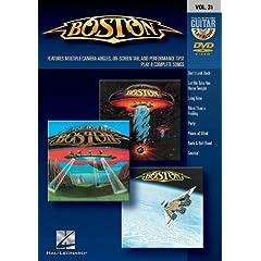 Boston: Guitar Play-Along DVD Volume 31