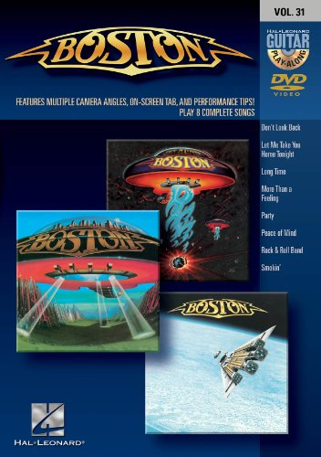 Boston: Guitar Play-Along DVD Volume 31