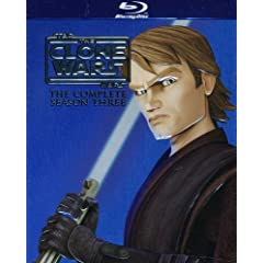 Star Wars: The Clone Wars: The Complete Season Three [Blu-ray]