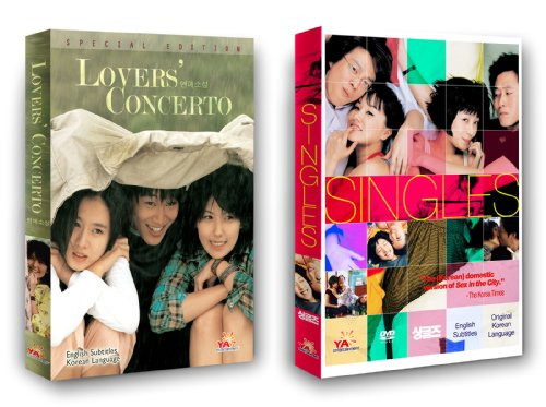 Korean Movie 2-Pack: Lovers Concerto + Singles