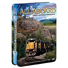 All Aboard: Great American Railroads (5-pk)