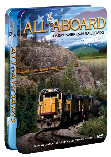 All Aboard: Great American Railroads (5-pk)