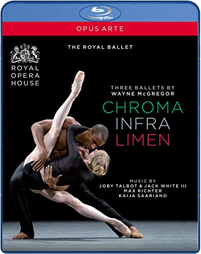McGregor: Three Ballets (Chroma / Infra / Limen) [Blu-ray]