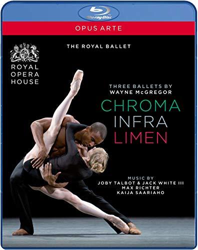 McGregor: Three Ballets (Chroma / Infra / Limen) [Blu-ray]