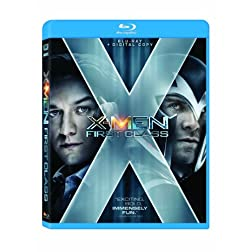 X-Men: First Class (+Digital Copy) [Blu-ray]