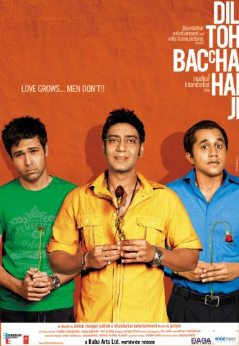 Dil Toh Baccha Hai Ji (Madhur Bhandharkar New Hindi Comedy Film / Bollywood Movie / Indian Cinema DVD)