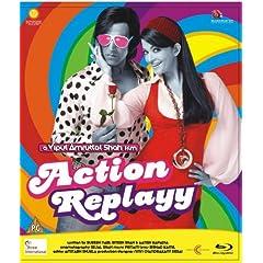Action Replayy (New Akshay- Aishwarya Comedy Hindi Movie / Bollywood Film / Indian Cinema Bul-ray Disc) [Blu-ray]