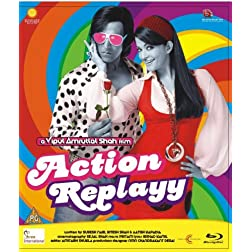 Action Replayy (New Akshay- Aishwarya Comedy Hindi Movie / Bollywood Film / Indian Cinema Bul-ray Disc) [Blu-ray]