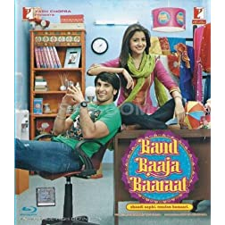 Band Baaja Baaraat (New Comedy Hindi Film / Bollywood Movie / Indian Cinema Blu-ray Disc)