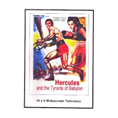 Hercules and the Tyrants of babylon 1964