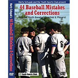 Baseball Coaching:44 Baseball Mistakes and Corrections