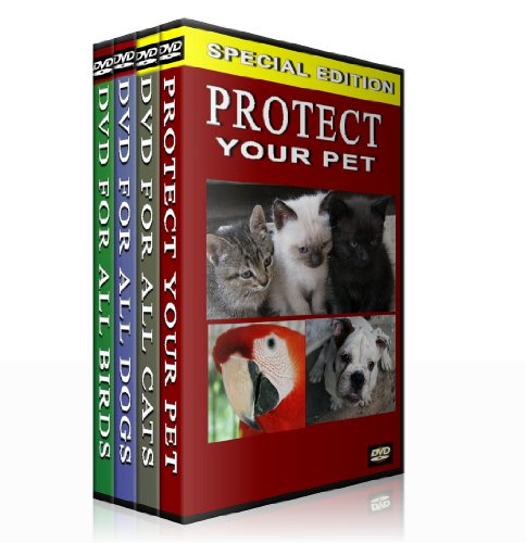 Protect Your Pet -Complete Series (Box Set) DVD for all Cats, DVD for all Dogs, DVD for all Birds and Protect your pet DVD.