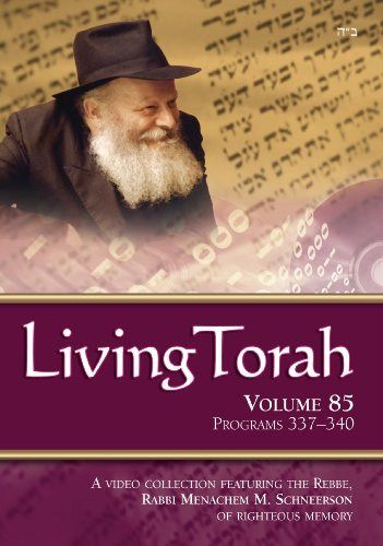 Living Torah Volume 85 Programs 337-340