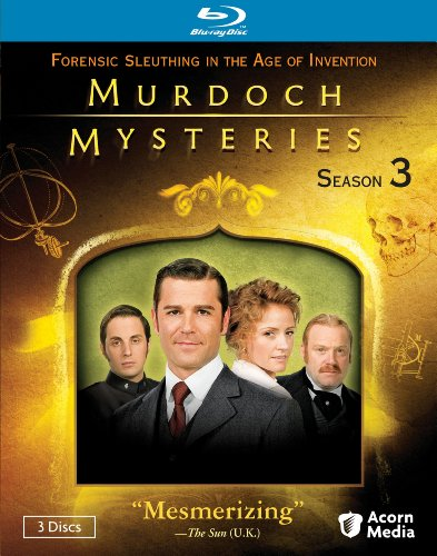 Murdoch Mysteries: Season 3 [Blu-ray]