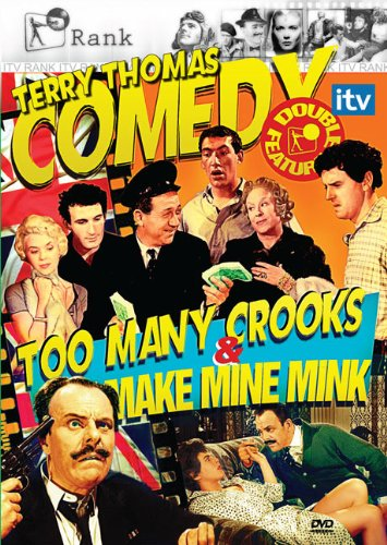 Terry Thomas Double Feature: Too Many Crooks & Make Mine Mink