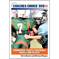 Animated Youth Football Goal Line Plays