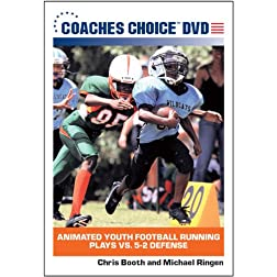 Animated Youth Football Running Plays vs. 5-2 Defense