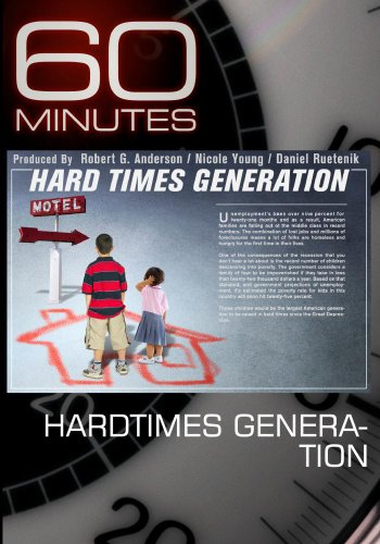 60 Minutes - Hardtimes Generation (March 6, 2011)