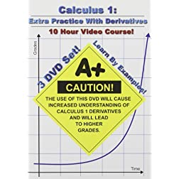 Calculus 1: Extra Practice With Derivatives